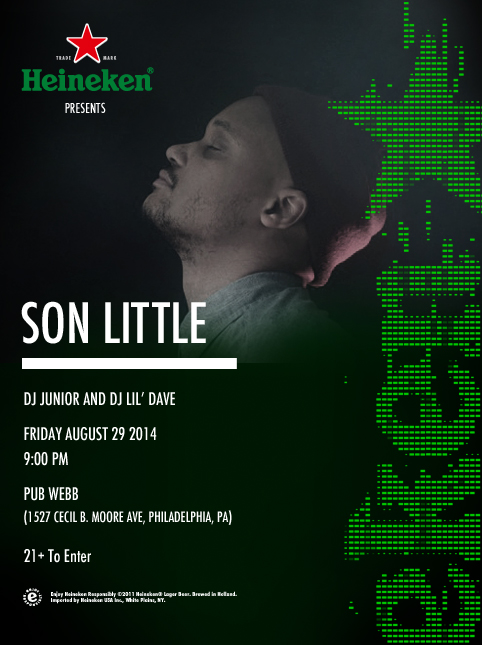 Heineken Presents Son Little at Pub Webb Live