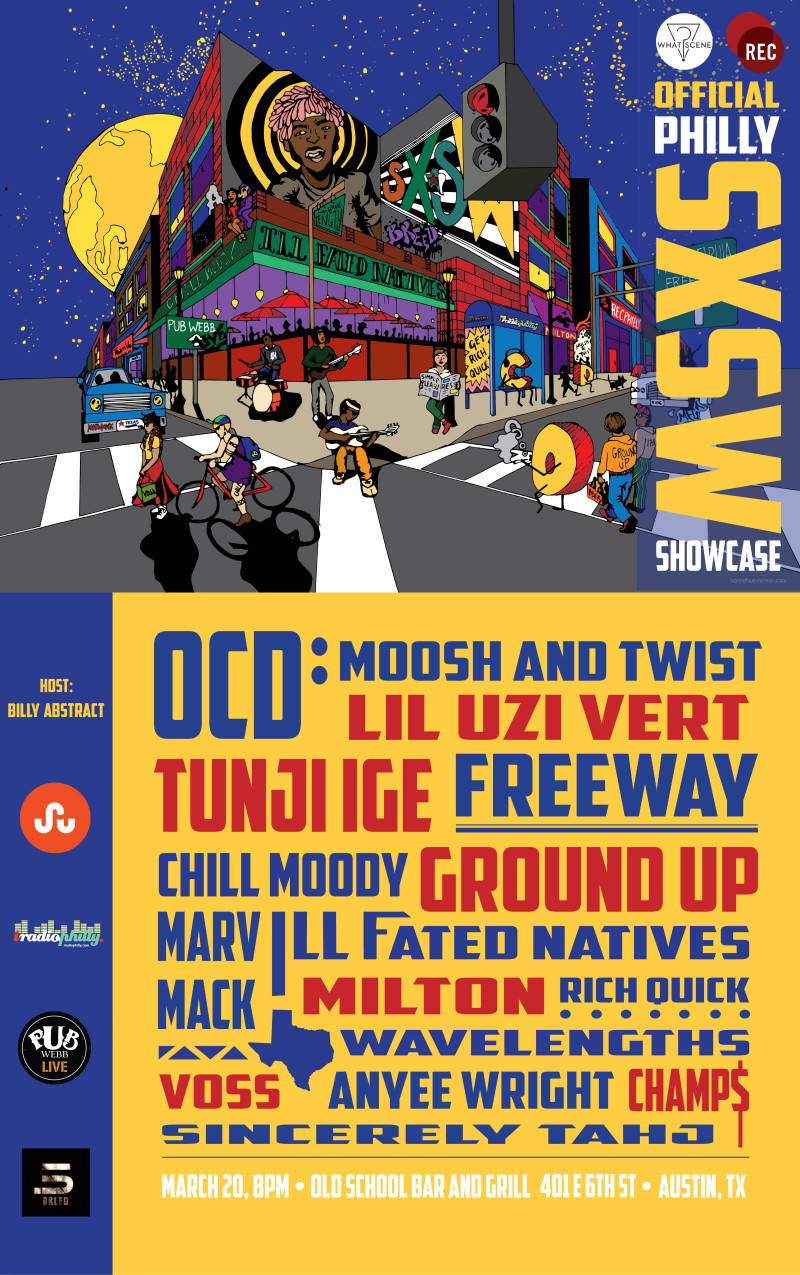 Official Philly SXSW Showcase