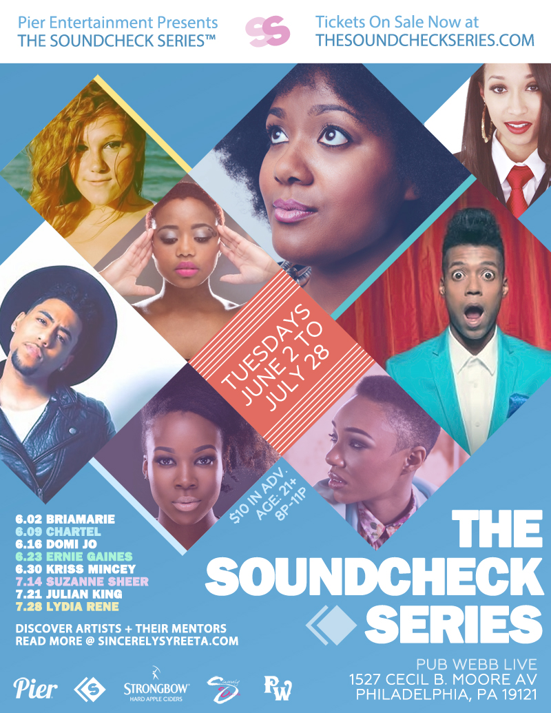 THE SOUNDCHECK SERIES Presented by Pier Entertainment