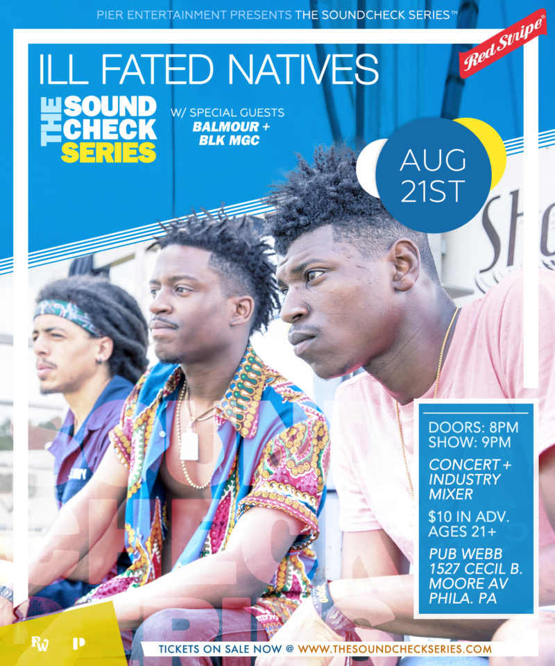 THE SOUNDCHECK SERIES: ill Fated Natives